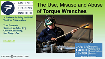 The Use, Misuse and Abuse of Torque Wrenches - Training Video
